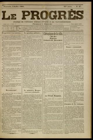 Le Progrès (1841-1914) 1905-07-02