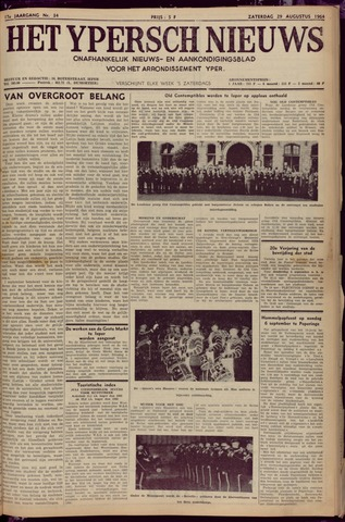 Het Ypersch nieuws (1929-1971) 1964-08-29