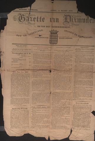 Gazette van Dixmude 1872-03-02