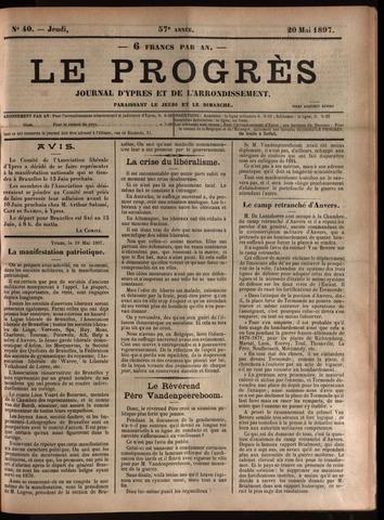 Le Progrès (1841-1914) 1897-05-20