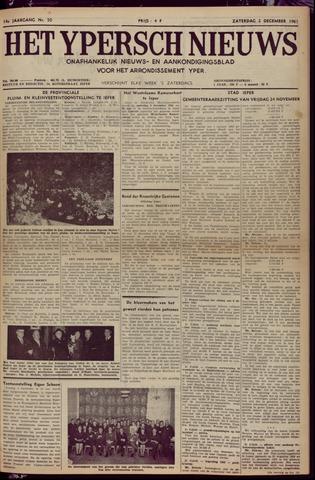 Het Ypersch nieuws (1929-1971) 1961-12-02