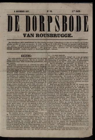 De Dorpsbode van Rousbrugge (1856-1857 en 1860-1862) 1857-12-08