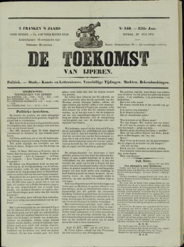 De Toekomst (1862 - 1894) 1872-07-28