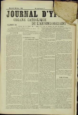 Journal d'Ypres (1874 - 1913) 1906-07-20