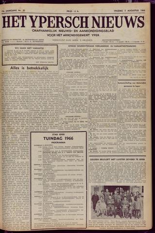Het Ypersch nieuws (1929-1971) 1966-08-05