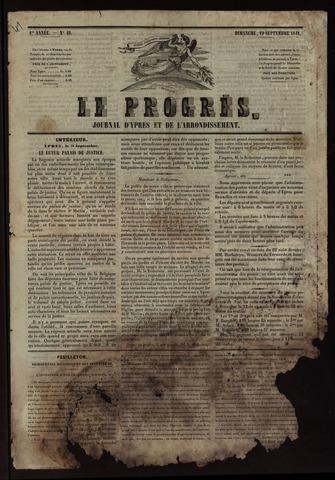 Le Progrès (1841-1914) 1841-09-19