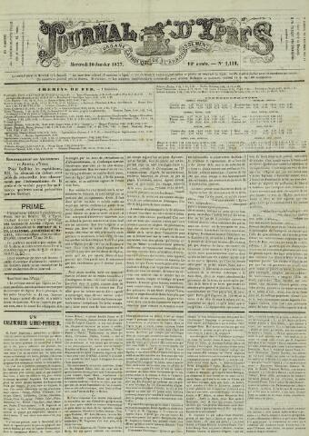 Journal d'Ypres (1874 - 1913) 1877-01-10