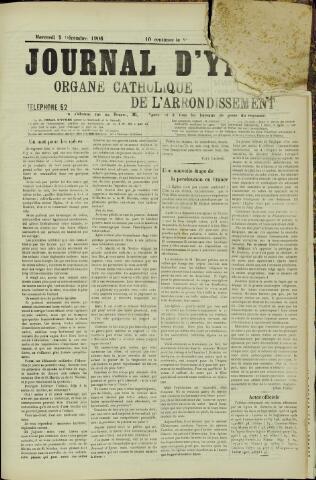 Journal d'Ypres (1874 - 1913) 1906-12-05