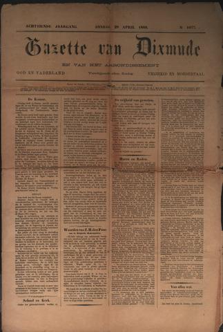 Gazette van Dixmude 1888-04-29