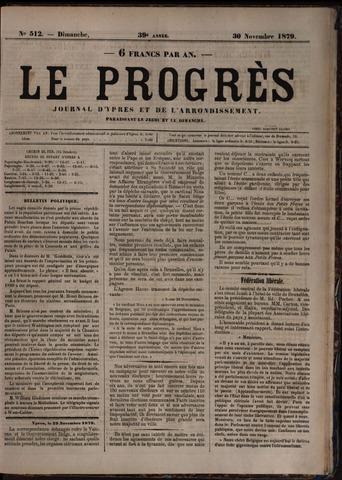 Le Progrès (1841-1914) 1879-11-30