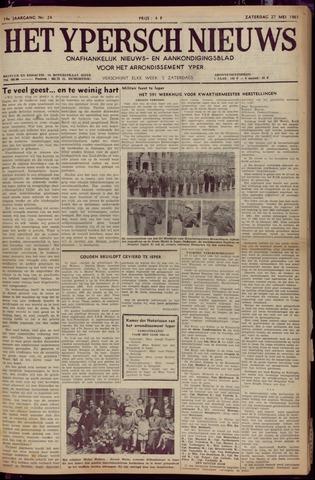 Het Ypersch nieuws (1929-1971) 1961-05-27
