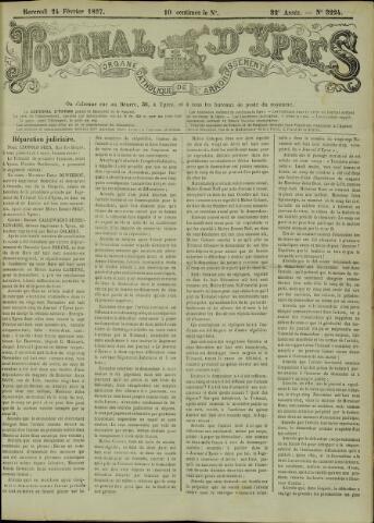 Journal d'Ypres (1874 - 1913) 1897-02-24