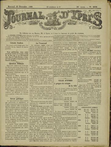 Journal d'Ypres (1874 - 1913) 1900-12-19