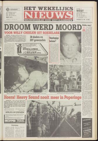 Het Wekelijks Nieuws (1946-1990) 1985-05-31