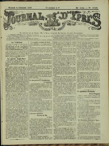 Journal d'Ypres (1874 - 1913) 1899-12-06