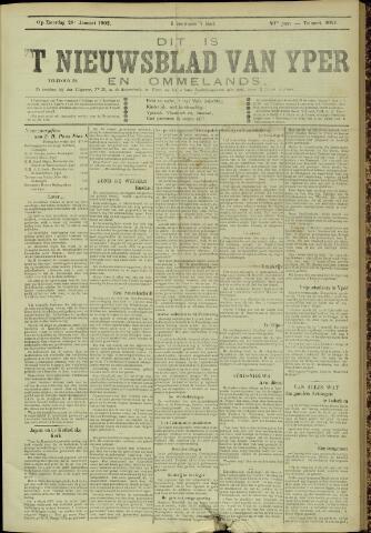 Nieuwsblad van Yperen en van het Arrondissement (1872 - 1912) 1905-01-28