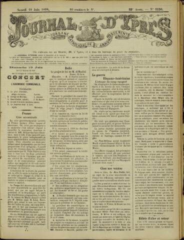 Journal d'Ypres (1874 - 1913) 1898-06-18