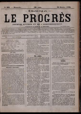 Le Progrès (1841-1914) 1880-10-10