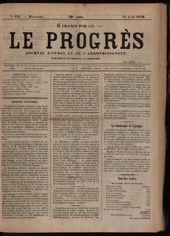 Le Progrès (1841-1914) 1879-04-27