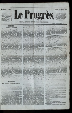 Le Progrès (1841-1914) 1847-02-11