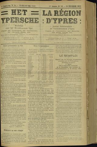 Het Ypersche (1925 - 1929) 1921-02-19