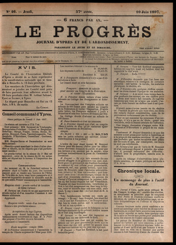 Le Progrès (1841-1914) 1897-06-10