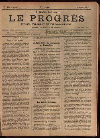 Le Progrès (1841-1914) 1897-03-11