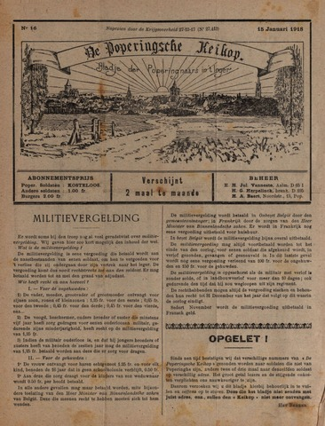 De Poperingsche Keikop (1917-1919) 1918-01-15