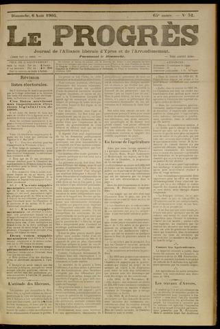 Le Progrès (1841-1914) 1905-08-06