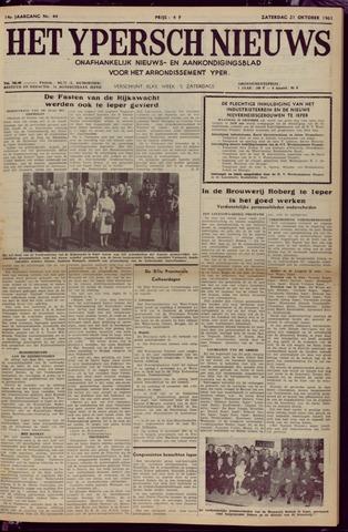 Het Ypersch nieuws (1929-1971) 1961-10-21