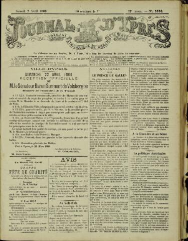 Journal d'Ypres (1874 - 1913) 1900-04-07