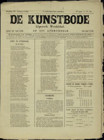De Kunstbode (1880 - 1883) 1882-01-29