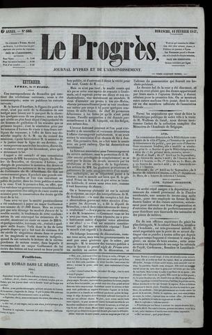 Le Progrès (1841-1914) 1847-02-14