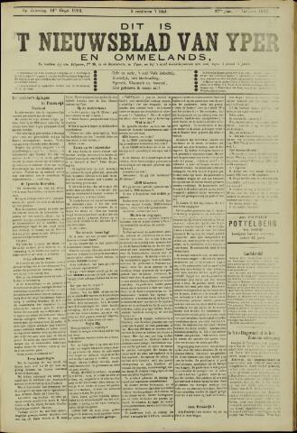 Nieuwsblad van Yperen en van het Arrondissement (1872 - 1912) 1902-08-16