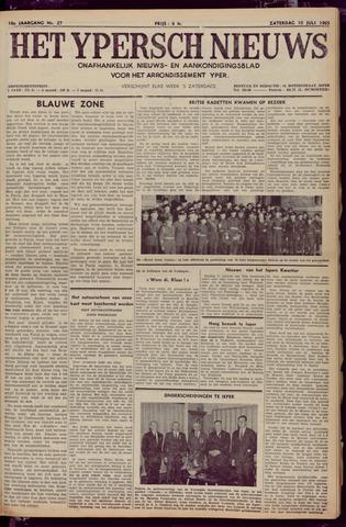 Het Ypersch nieuws (1929-1971) 1965-07-10