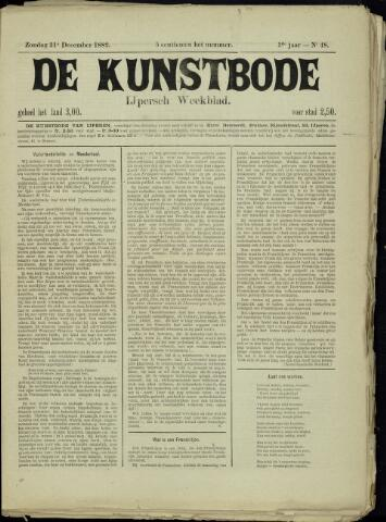 De Kunstbode (1880 - 1883) 1882-12-31