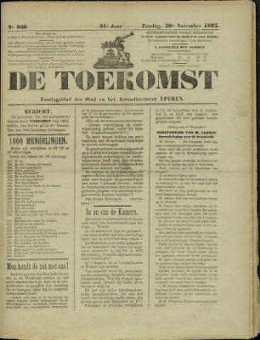 De Toekomst (1862 - 1894) 1892-11-20