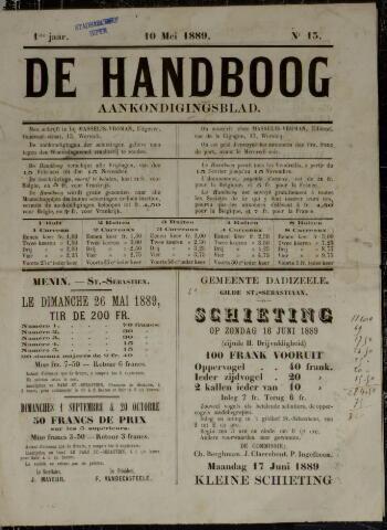 De Handboog (1889) 1889