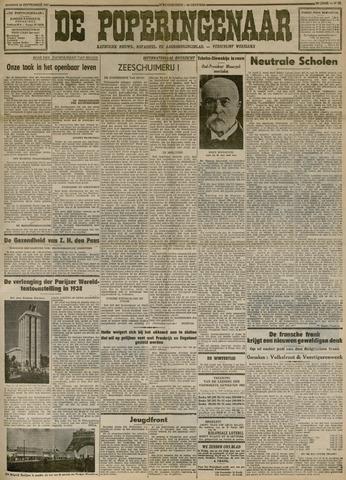 De Poperinghenaar (1904-1914,1919-1944)  1937-09-19