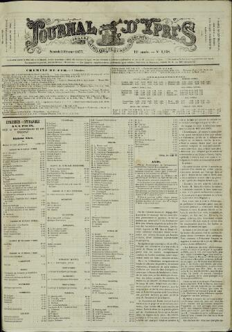 Journal d'Ypres (1874 - 1913) 1877-02-03