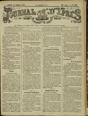 Journal d'Ypres (1874 - 1913) 1898-10-15