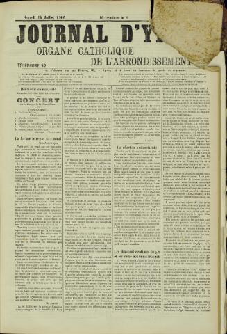 Journal d'Ypres (1874 - 1913) 1906-07-14