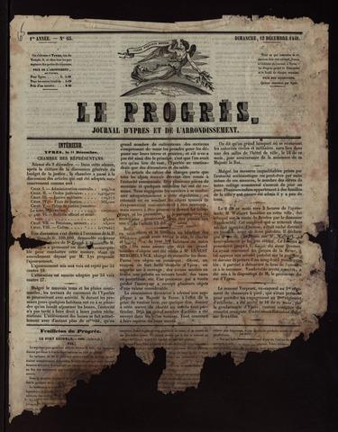 Le Progrès (1841-1914) 1841-12-12