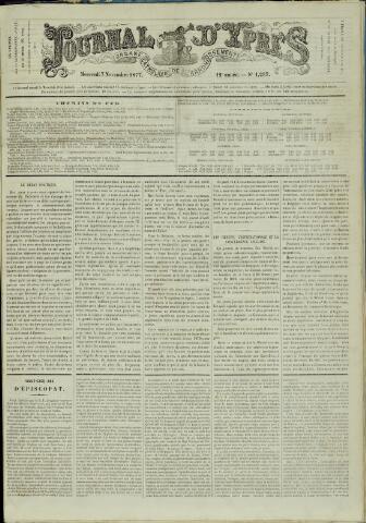 Journal d'Ypres (1874 - 1913) 1877-11-07