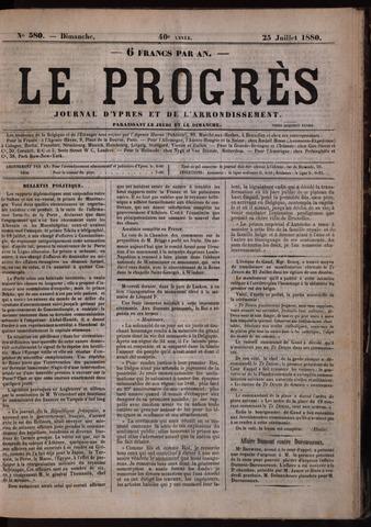 Le Progrès (1841-1914) 1880-07-25