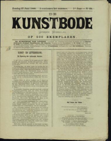 De Kunstbode (1880 - 1883) 1880-06-27