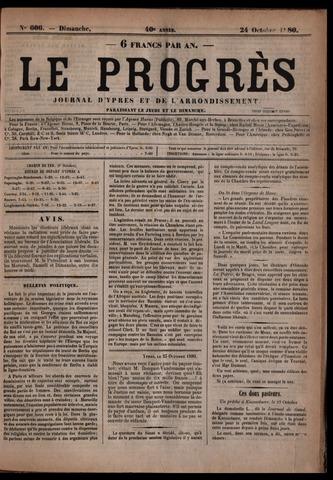 Le Progrès (1841-1914) 1880-10-24