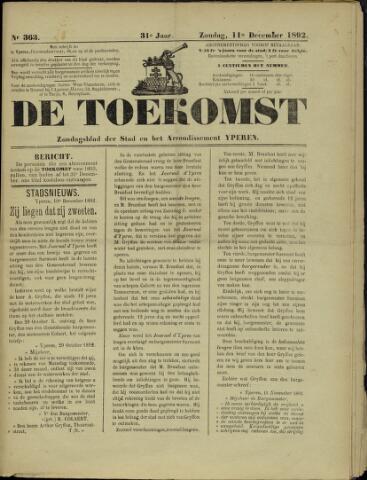 De Toekomst (1862 - 1894) 1892-12-11