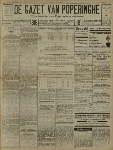 De Gazet van Poperinghe  (1921-1940) 1931-09-13