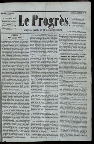 Le Progrès (1841-1914) 1847-03-14
